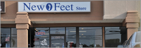 New Feet Stores